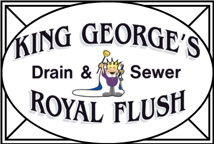 King George's Royal Flush | Drain Cleaning Idaho Falls area | Rooter Drain Services